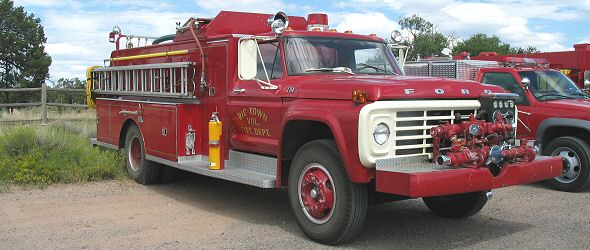Photo of a fire truck