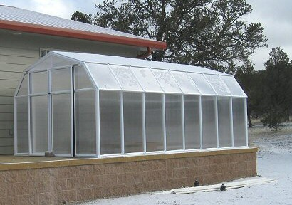 Photo of a greenhouse